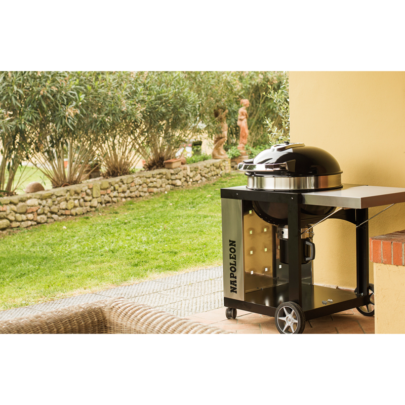 NEW-Napoleon-Rodeo-Pro-57cm-on-Cart-By-BBQs-Galore